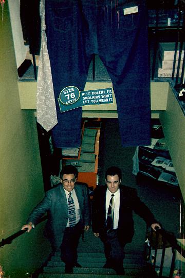 Howie & Derek Smolkin (Father & Son)