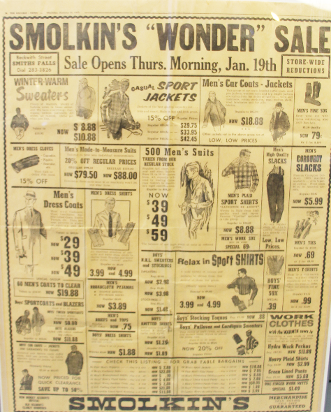 Smolkin's Wonder Sale 1967