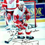 Detroit Red Wings' Steve Yzerman